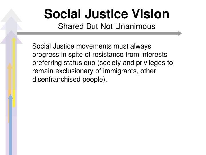 Social Justice Vision