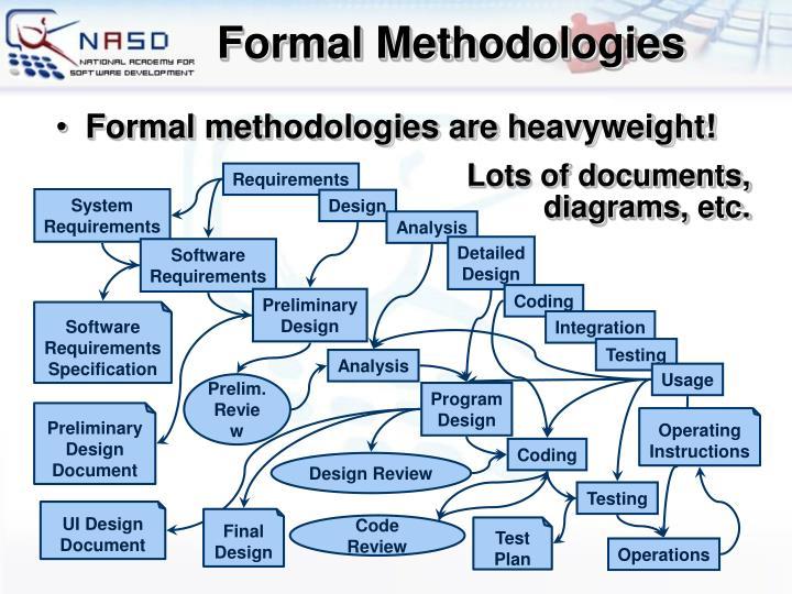 Formal Methodologies