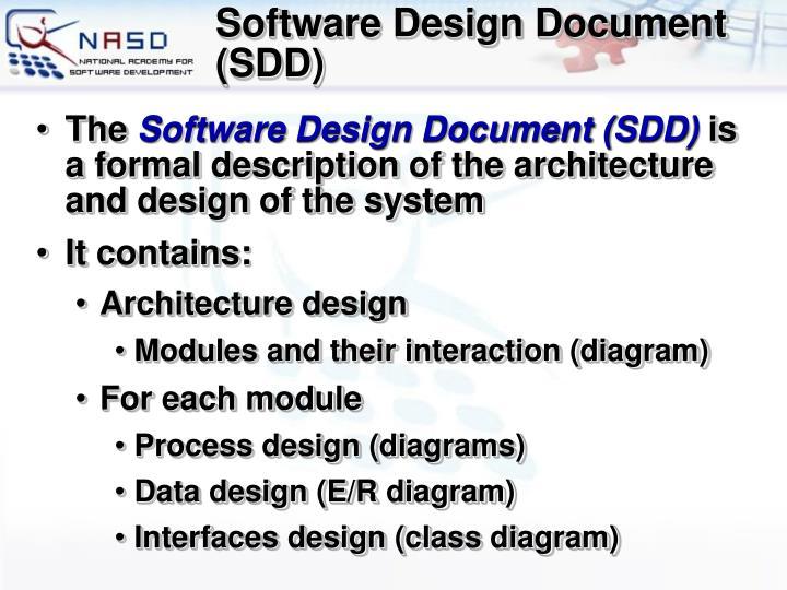 Software Design Document (SDD)