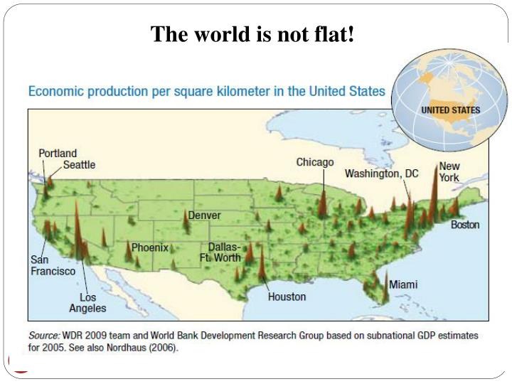 The world is not flat!