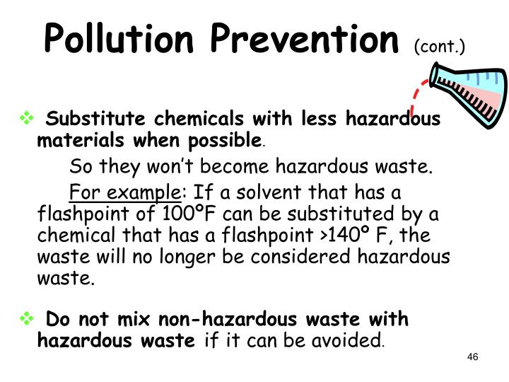 Pollution Prevention