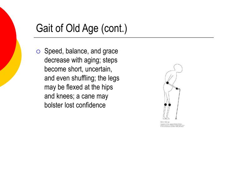 Gait of Old Age (cont.)