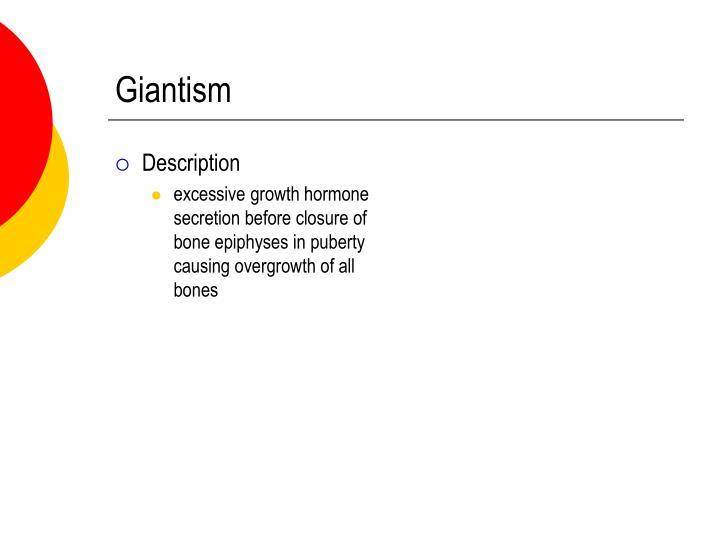 Giantism