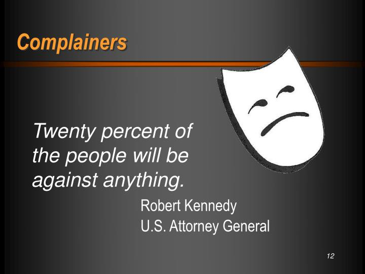 Complainers