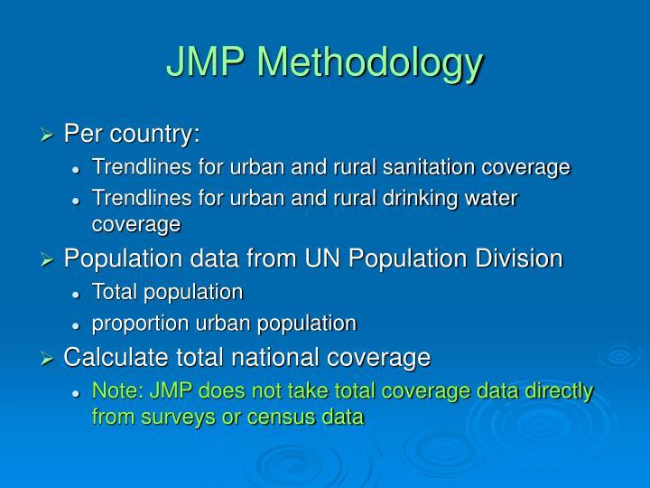 JMP Methodology