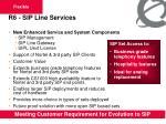 r6 sip line services