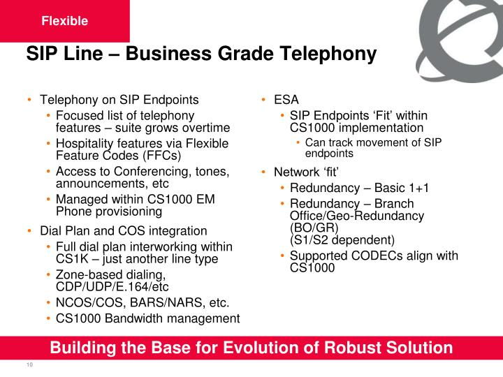 Telephony on SIP Endpoints