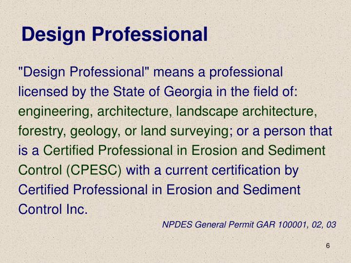Design Professional