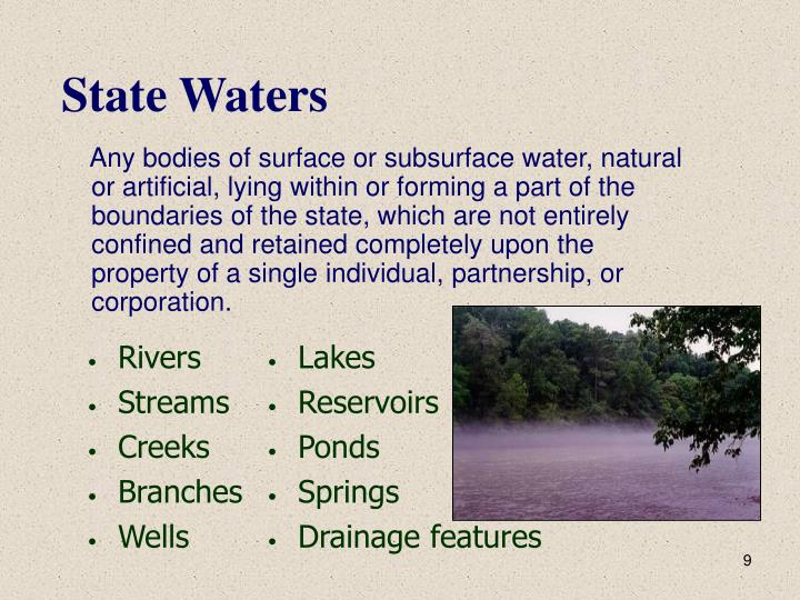 State Waters