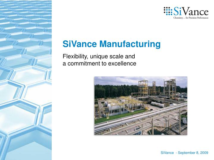 SiVance Manufacturing