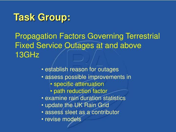 Task Group: