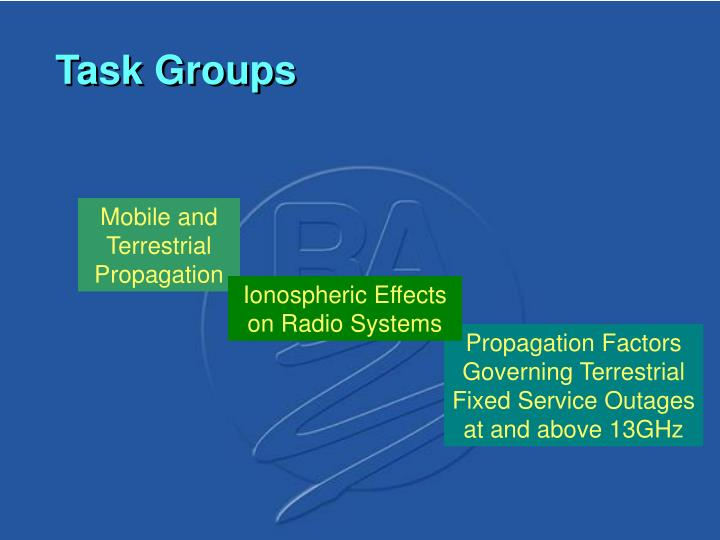 Mobile and Terrestrial Propagation