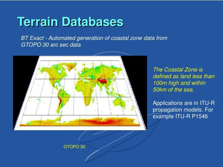Terrain Databases