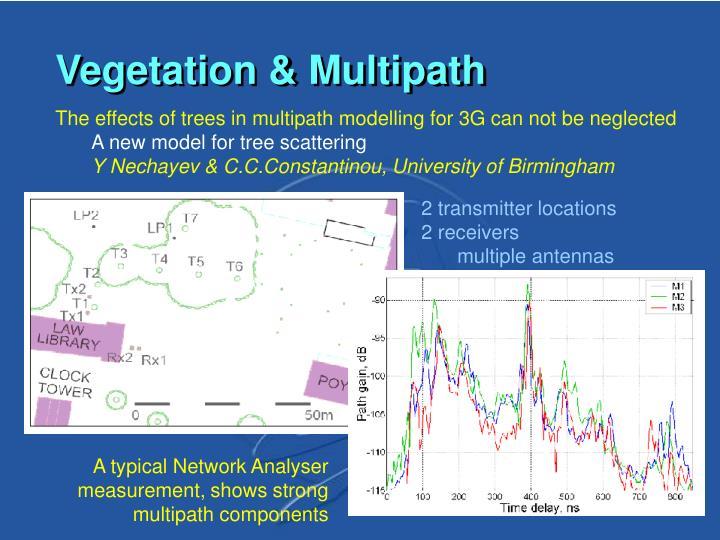 Vegetation & Multipath
