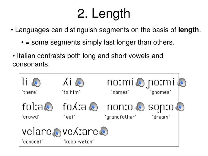 2. Length