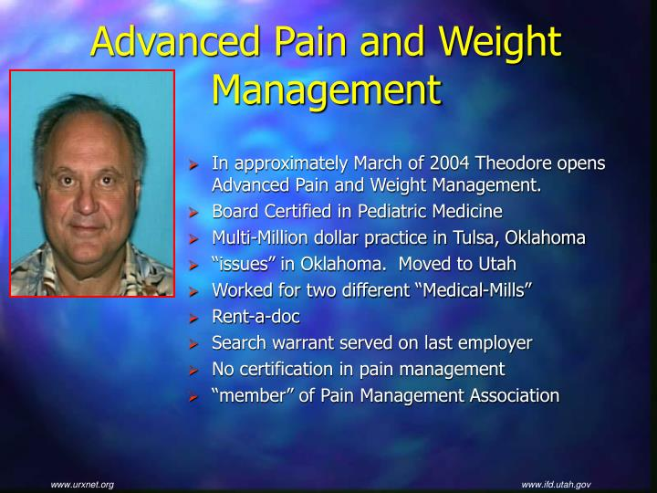 Advanced Pain and Weight Management