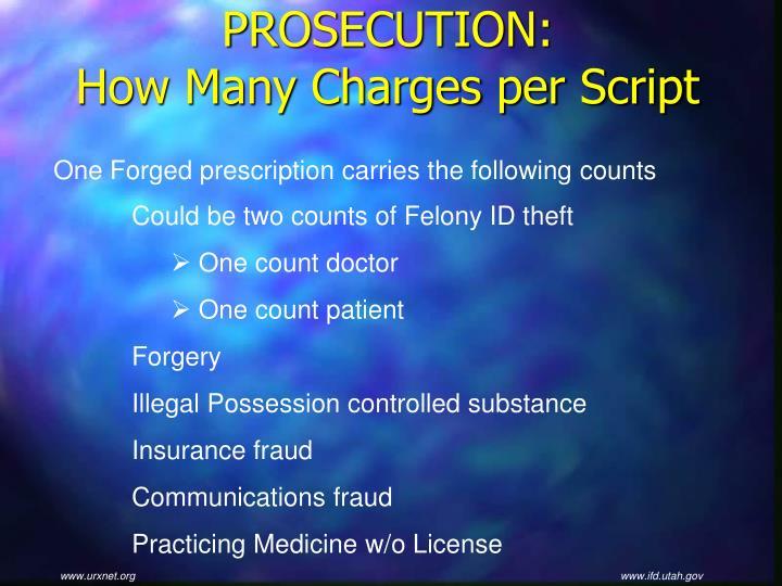 PROSECUTION: