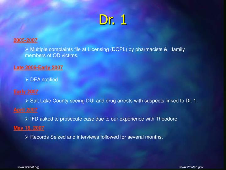 Dr. 1