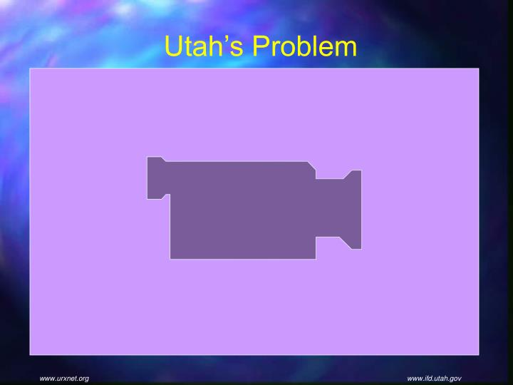 Utah's Problem