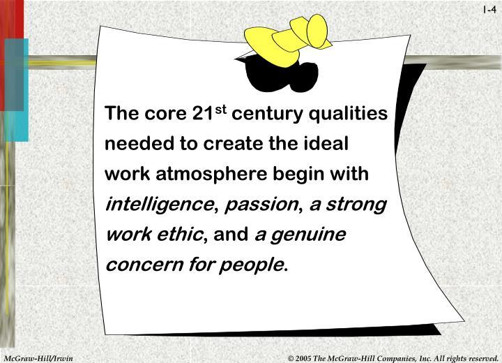 The core 21