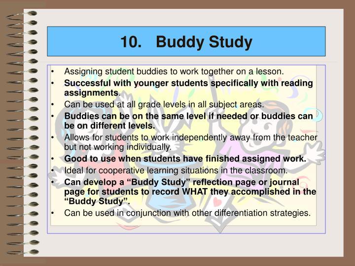 10.Buddy Study