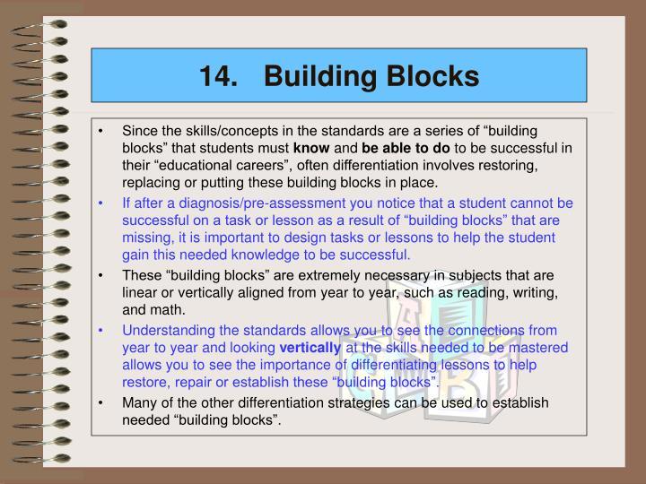 14.Building Blocks