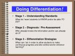 doing differentiation1