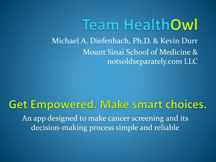 Team health owl