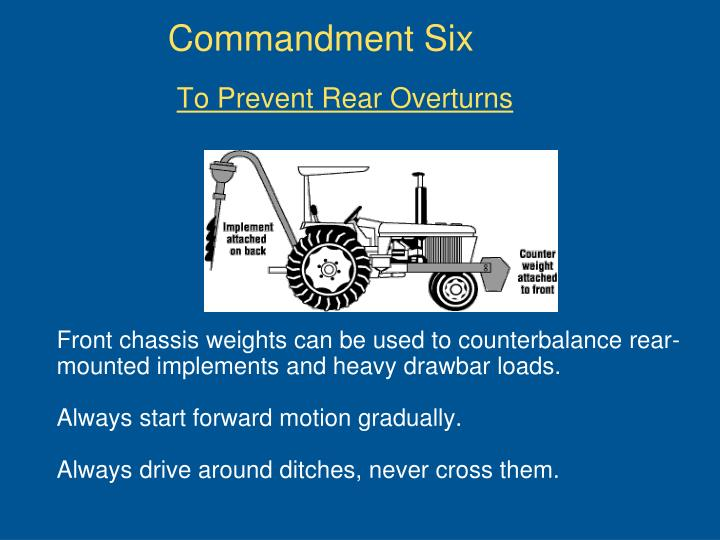 Commandment Six
