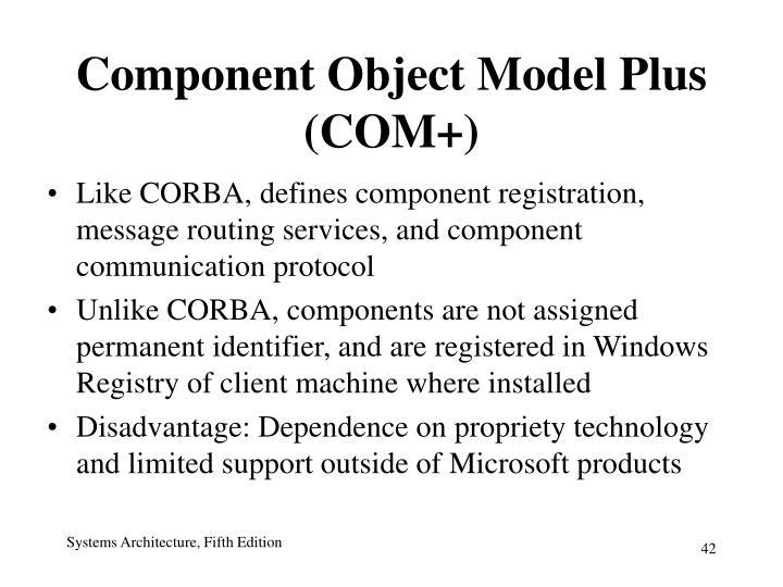 Component Object Model Plus (COM+)