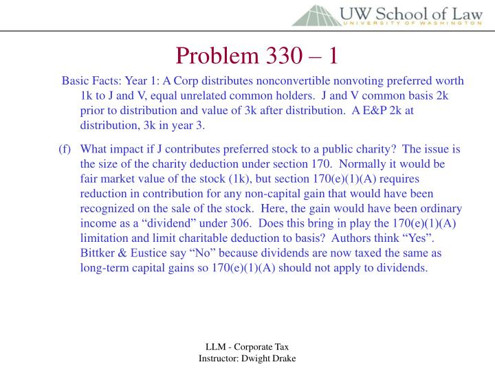 Problem 330 – 1