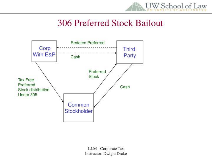 306 Preferred Stock Bailout