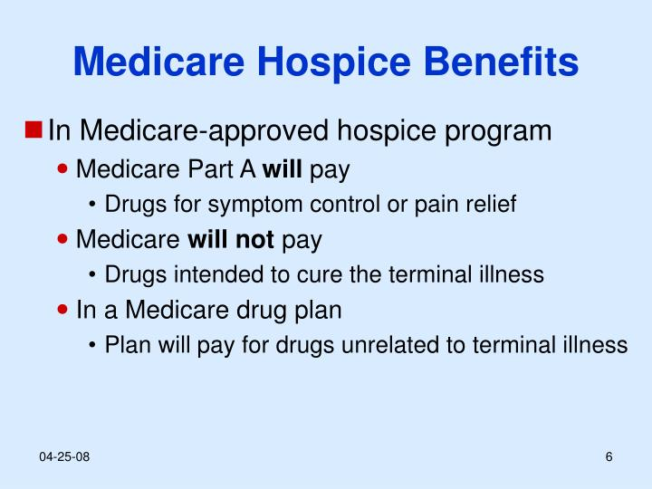 Medicare Hospice Benefits