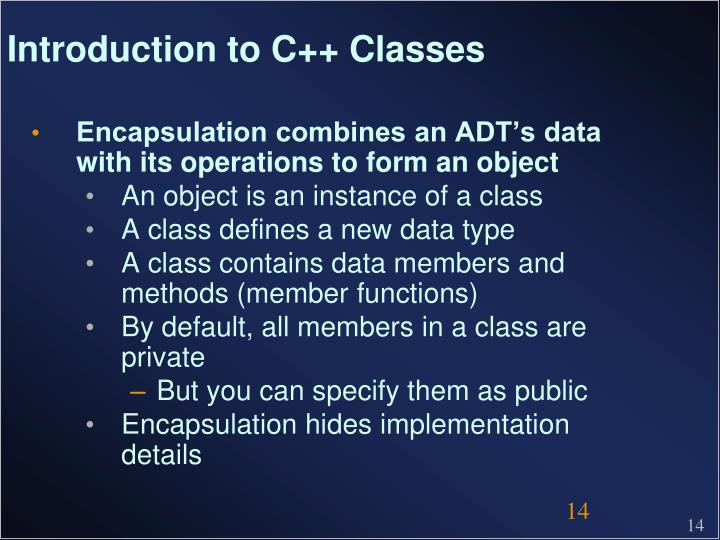Introduction to C