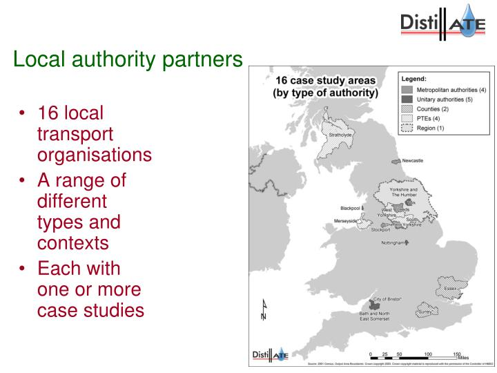 Local authority partners