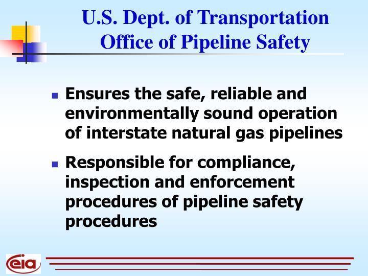 U.S. Dept. of Transportation
