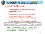 6 mobile tv and economics