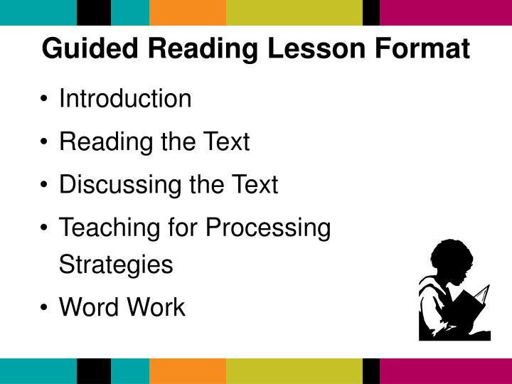 Guided Reading Lesson Format