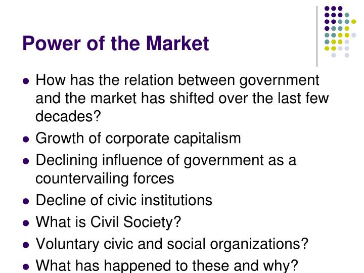 Power of the Market