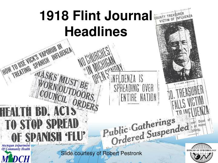 1918 Flint Journal Headlines
