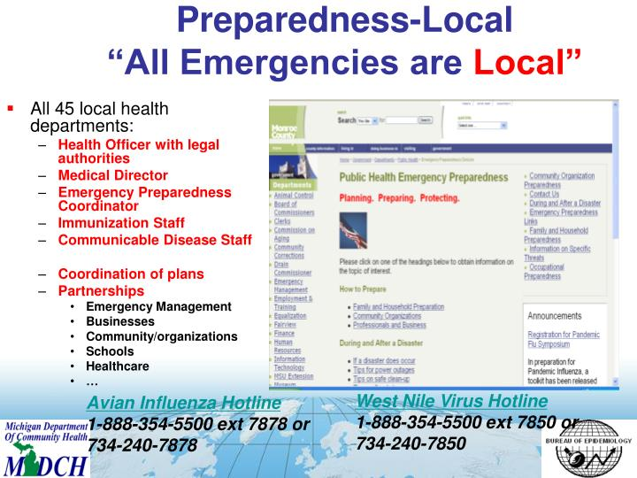 Preparedness-Local