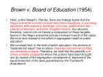 brown v board of education 19541