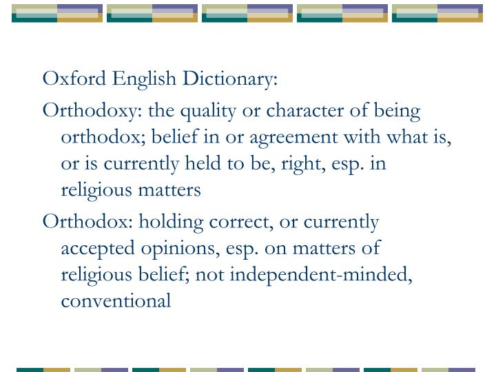 Oxford English Dictionary: