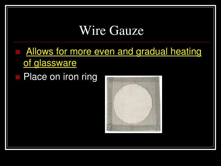 Wire Gauze