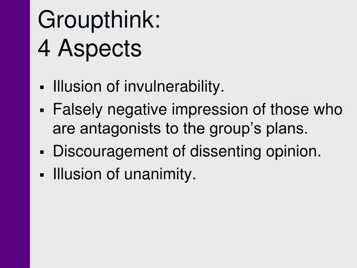 Groupthink: