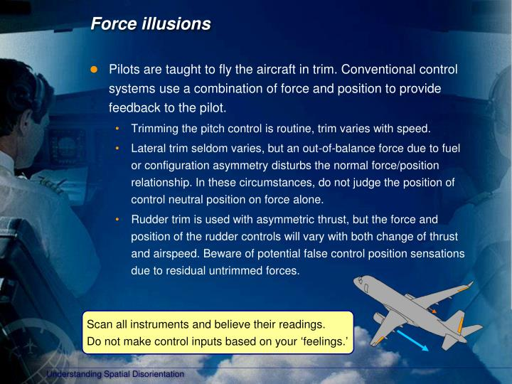 Force illusions