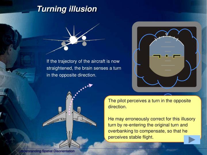 Turning illusion