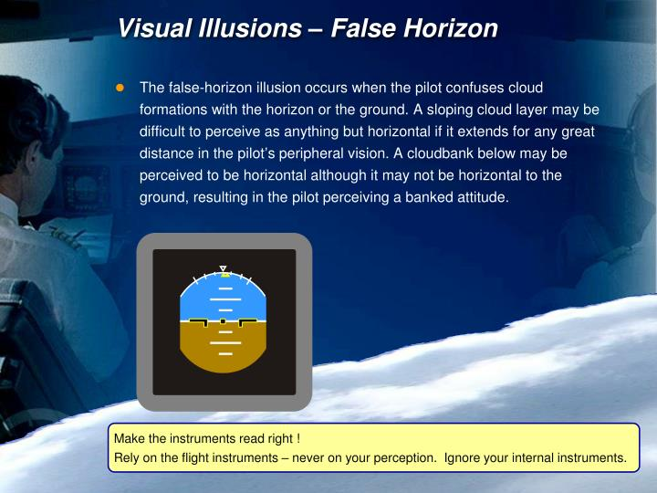 Visual Illusions – False Horizon