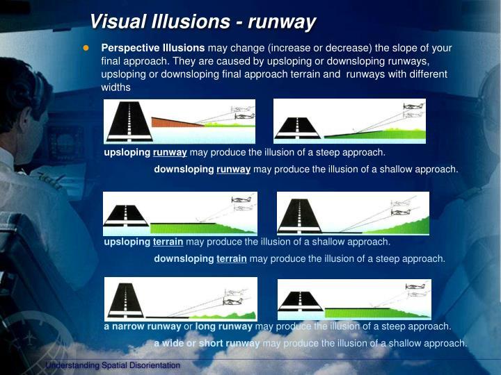 Visual Illusions - runway