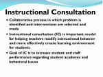 instructional consultation